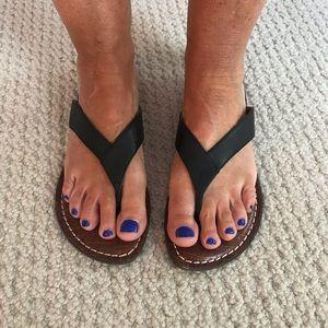 Sam Edelman sandals, black leather